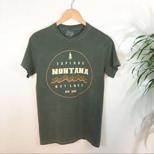 VTG Travel T-shirt MoNtana